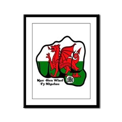 Wales Fist 1881 Framed Panel Print