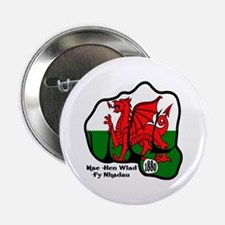 Wales Fist 1881 Button