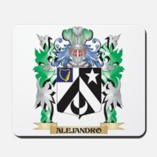 Alejandro Coat of Arms - Family Crest Mousepad
