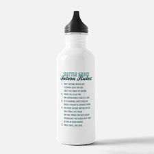 INTERN RULES Water Bottle