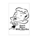 Martha Mini Poster Print