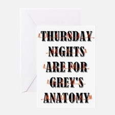 THURSDAY NIGHTS Greeting Cards