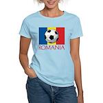 Romanian Soccer (2) Women's Light T-Shirt
