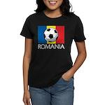 Romanian Soccer (2) Women's Dark T-Shirt