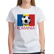 Romanian Soccer (2) Tee