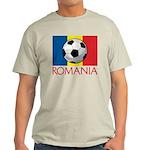 Romanian Soccer (2) Light T-Shirt