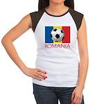 Romanian Soccer (2) Women's Cap Sleeve T-Shirt