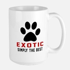 Exotic Simply The Best Cat Designs Large Mug