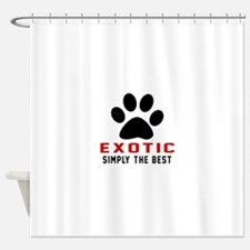 Exotic Simply The Best Cat Designs Shower Curtain