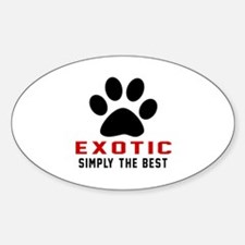 Exotic Simply The Best Cat Designs Decal