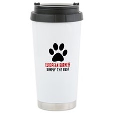 European Burmese Simply Travel Coffee Mug