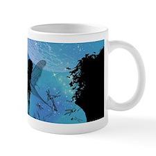 Wonderful fairy silhouette Mugs