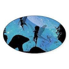 Wonderful fairy silhouette Decal
