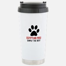 Egyptian Mau Simply The Stainless Steel Travel Mug