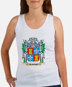 Alonso Coat of Arms - Family Crest Tank Top