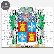 Alonso Coat of Arms - Family Crest Puzzle