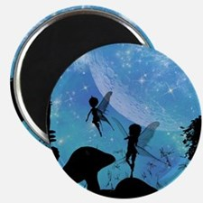 Wonderful fairy silhouette Magnets