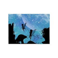 Wonderful fairy silhouette 5'x7'Area Rug