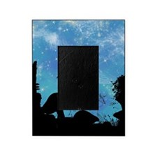 Wonderful fairy silhouette Picture Frame