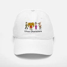 Linux Characters Baseball Baseball Cap