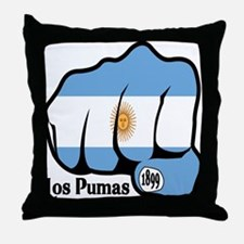 Argentina Fist 1899 Throw Pillow