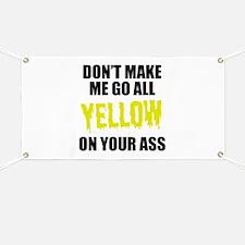 Yellow Team Banner