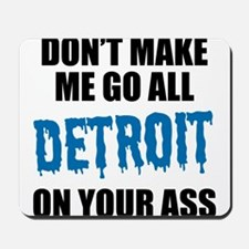 Detroit Football Mousepad