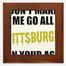 Pittsburgh Football Framed Tile
