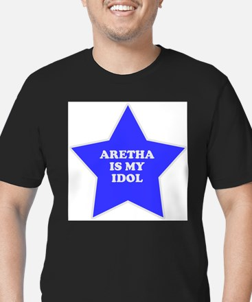 star-aretha.png Men's Fitted T-Shirt (dark)