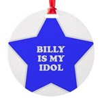 star-billy.png Round Ornament