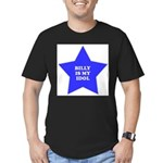 star-billy.png Men's Fitted T-Shirt (dark)