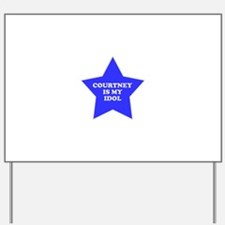 star-courtney.png Yard Sign