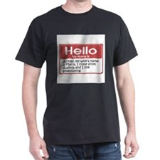 my-name-is-arnold-10x10.png T-Shirt