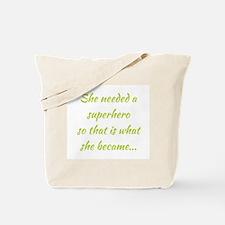 SUPERHERO Tote Bag