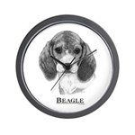 Beagle Dog Breed Wall Clock