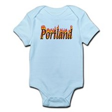 Portland Flame Body Suit