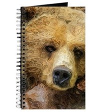 Lazy Grizzly Bear painting Journal