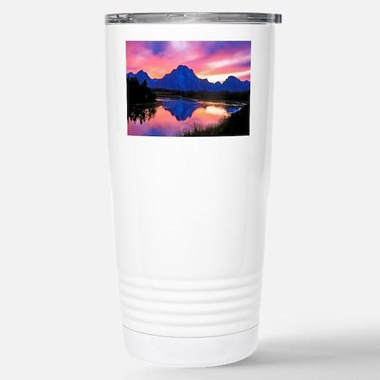 Grand Teton Range Stainless Steel Travel Mug