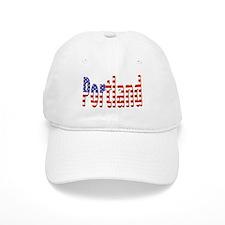 Patriotic Portland Baseball Baseball Cap