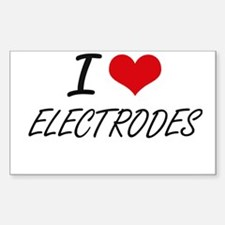 I love ELECTRODES Decal