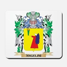 Angelini Coat of Arms - Family Crest Mousepad