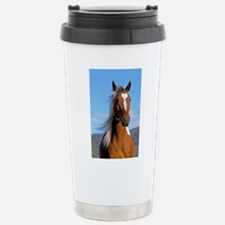 Pinto Arabian portrait Stainless Steel Travel Mug