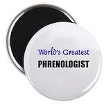 Worlds Greatest PHRENOLOGIST Magnet
