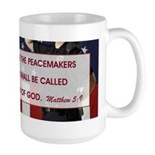 BLESSED ARE THE... Mug