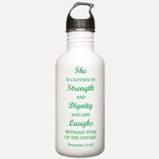 PROVERBS 31:25 Water Bottle