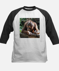 amazing Animal Orang Baby Baseball Jersey