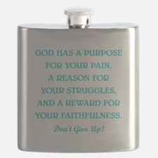 GOD HAS A PURPOSE Flask