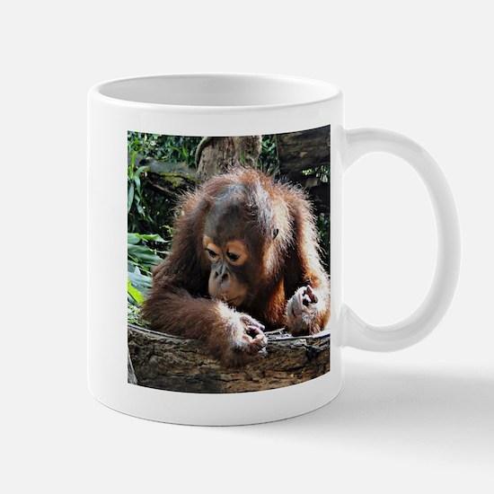 amazing Animal Orang Baby Mugs