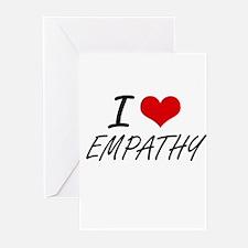I love EMPATHY Greeting Cards