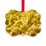 Mac and cheese Picture Frame Ornaments